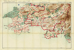 South Wales and the Border in the 14th century, SW